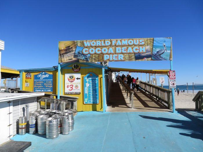 Cocoa Beach Pier >> Cocoa Beach Pier Indian River Lagoon Byway